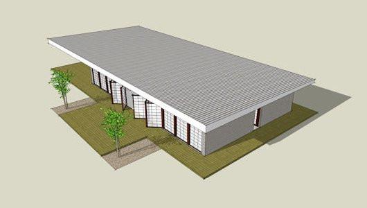 Flat Roof Rendering