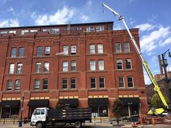 Tiley Roofing Crane