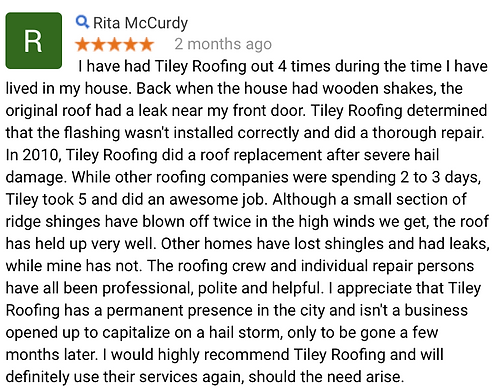 Roofing repair and reroof