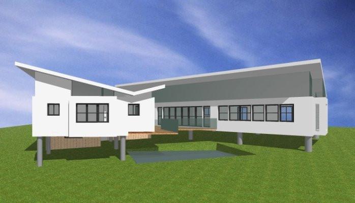 scallion roof rendering