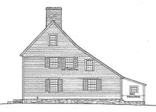 saltbox roof