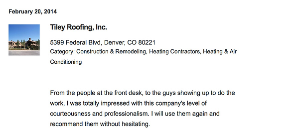 Roofing Denver leaks and repairs review