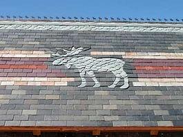 slate roof pattern