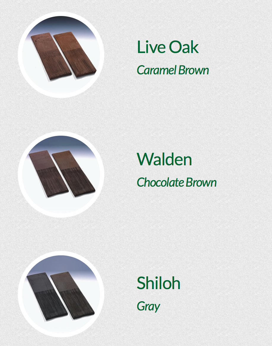 synthetic roofing shingles