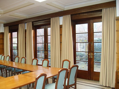 Curtains in a meeting room in Swindon