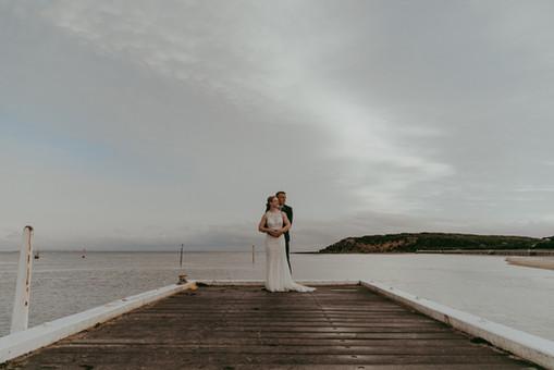 Beach Wedding - At the Heads, Barwon Heads
