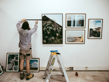 My first Photography Exhibition verses all these lockdowns!