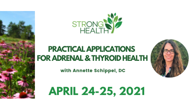 PAST EVENT: Practical Applications For Adrenal & Thyroid Health