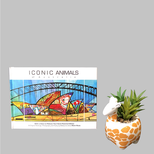 ICONIC ANIMALS OF AUSTRALIA  gift book