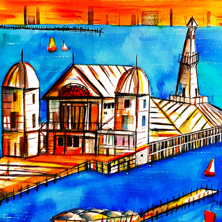 Iconic Cunnignham Pier Geelong