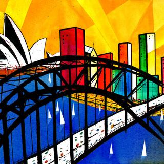 Sydney city & bridge
