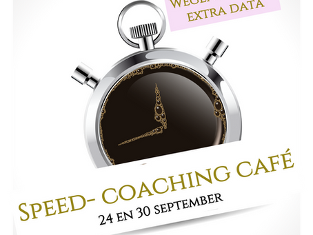 Extra data Speed-coaching café in Nederzandt te Noordwijk