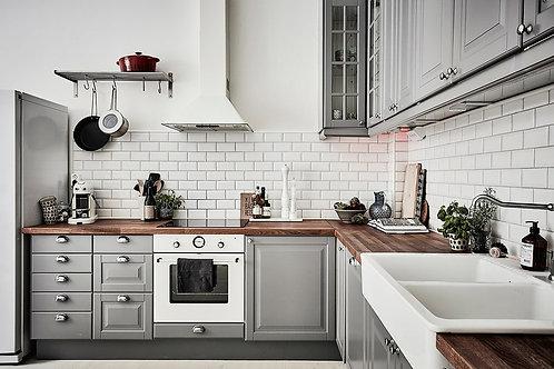Скандия - 3, кухня в скандинавском стиле