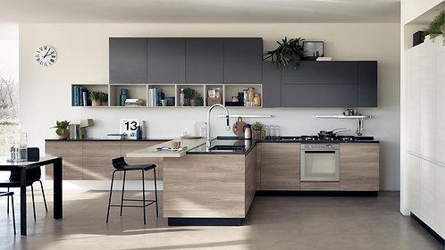 Хай-тек - 2, кухня в современном стиле