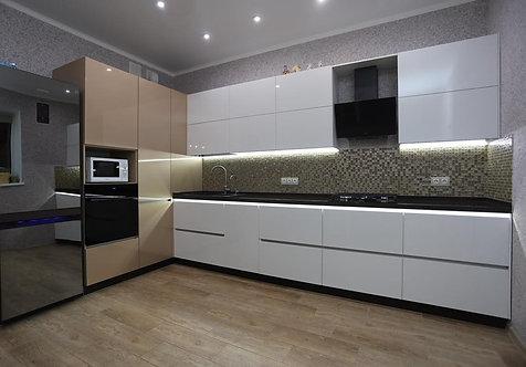 Хай-тек - 3, кухня в современном стиле