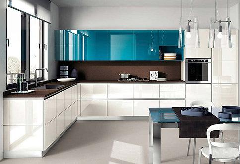Хай-тек - 1. кухня в современном стиле