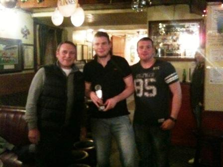 Ciaran Dowling 2011 Player of the Year