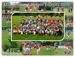 U12 League Division 1 Finalist