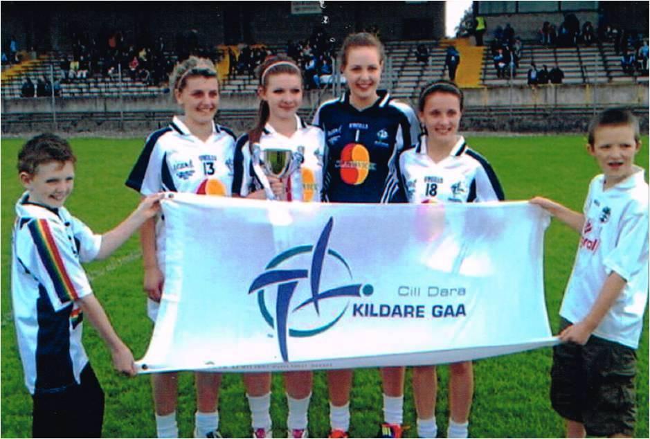 Suncroft Girls Help Kildare lift 2011 Shield