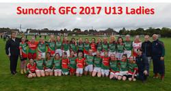 Suncroft GFC 2017 U13 Ladies