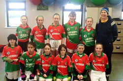 U10 Girls v Balyna In Hawkfiled