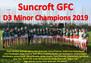 Minor Championship D3 Winners