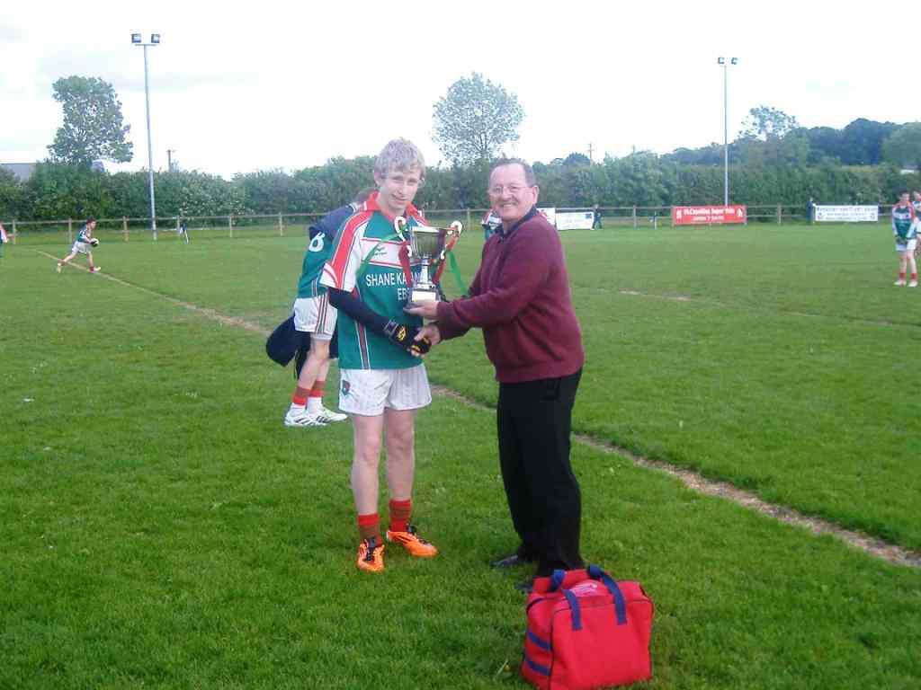 Derry Nolan Congratulates Christopher Philips