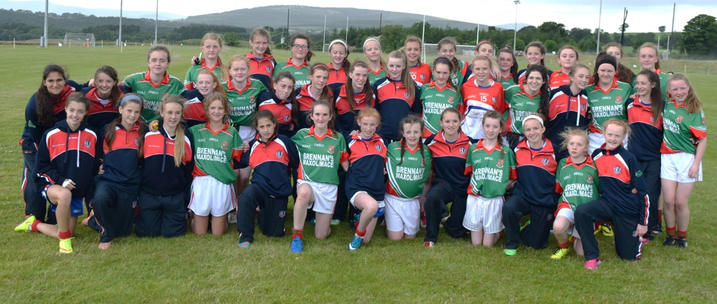 Suncroft & New York U14 Feile Teams