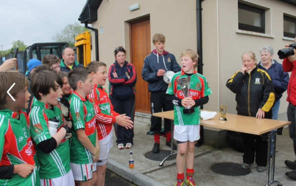 U12 Div1 Winners 2014 Captian speech.jpg