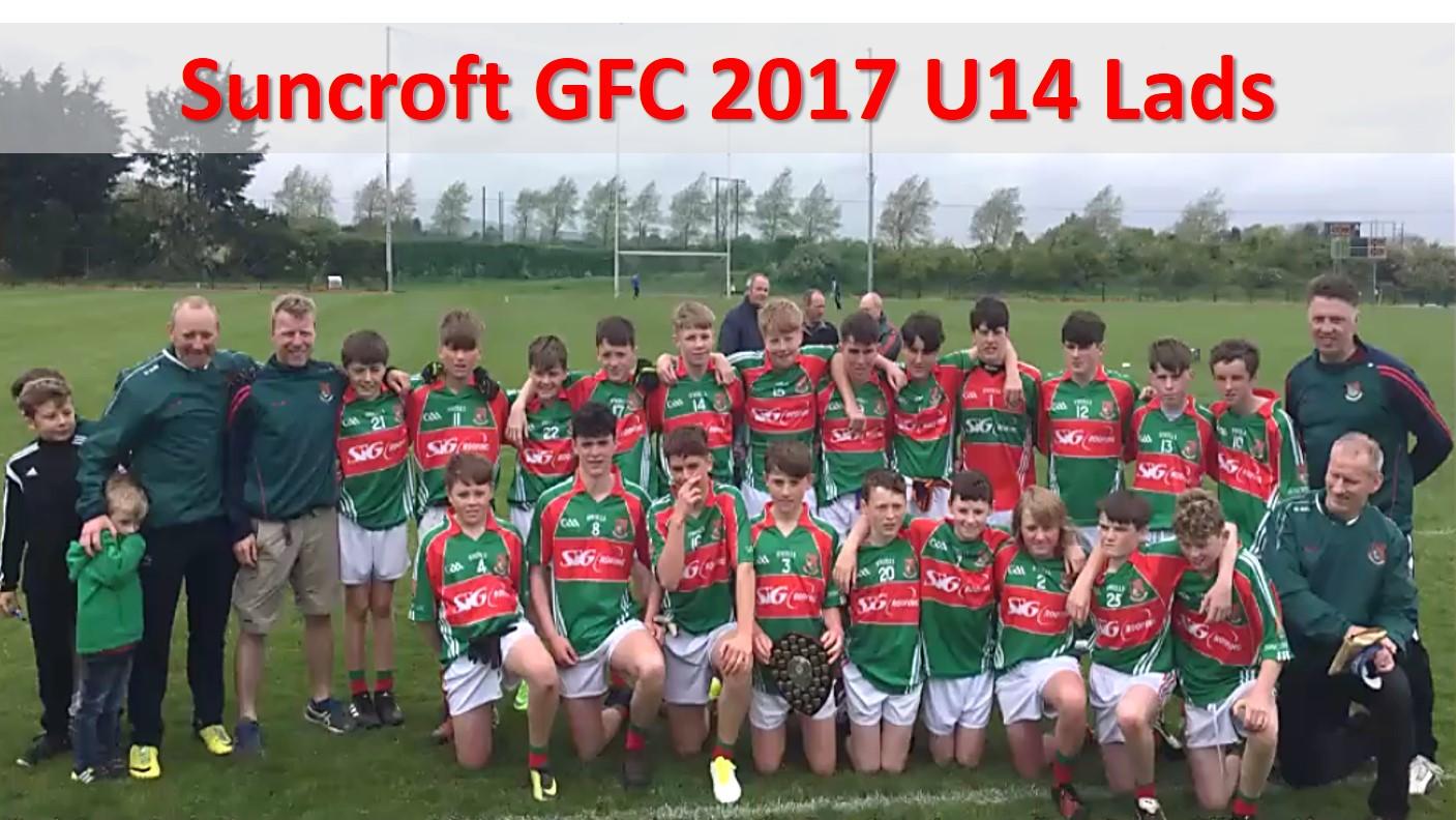 Suncroft GFC 2017 U14 Lads