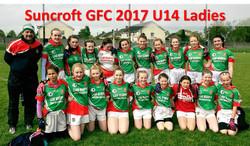 Suncroft GFC 2017 U14 Ladies