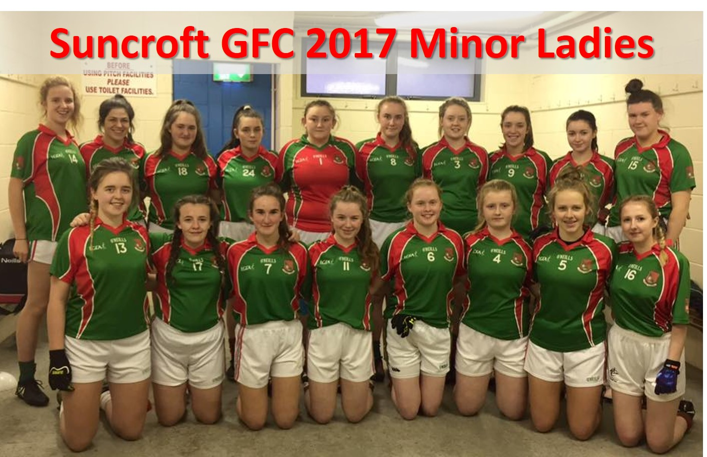 Suncroft GFC 2017 Minor Ladies