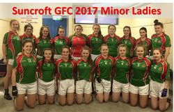 Suncroft GFC 2017 Minor Ladies