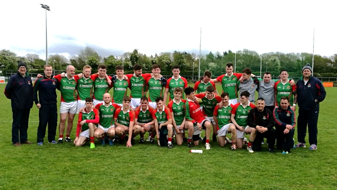Senior Lads May 2017