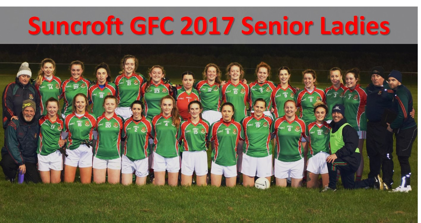 Suncroft GFC 2017 Senior Ladies