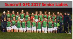 Suncroft GFC 2017 Senior Ladies