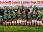 Excellent Debut Season At Senior Championship & Division One for Suncroft Senior Ladies.