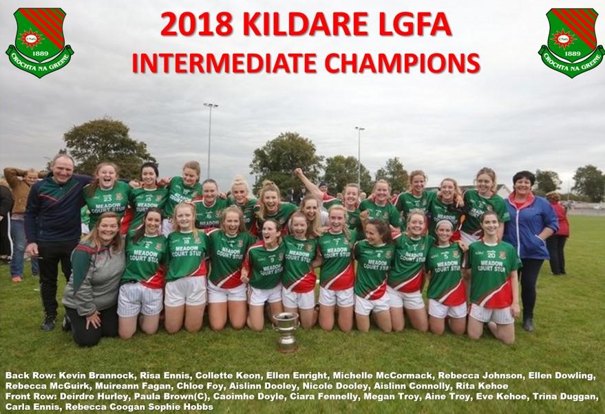 Intermediate Champions 2018