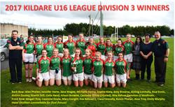 U16 Leage Division 3 Winners 2017