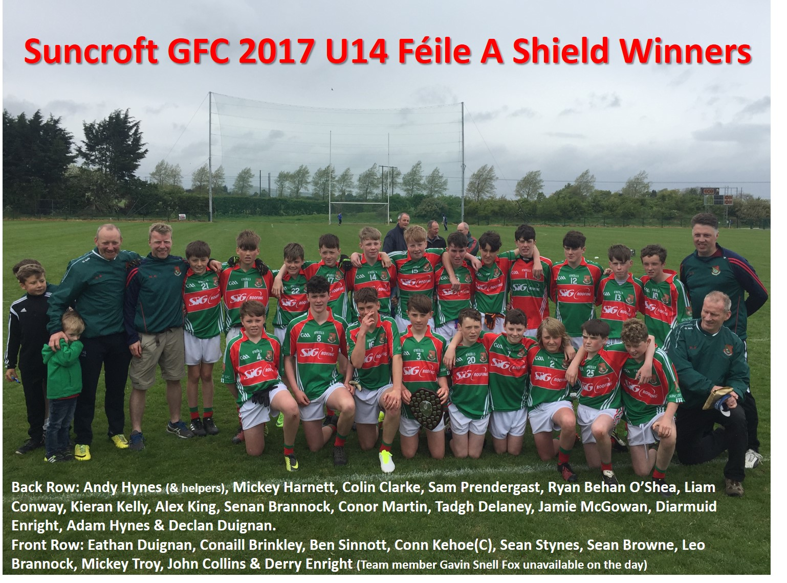 Feile A Shield Winners