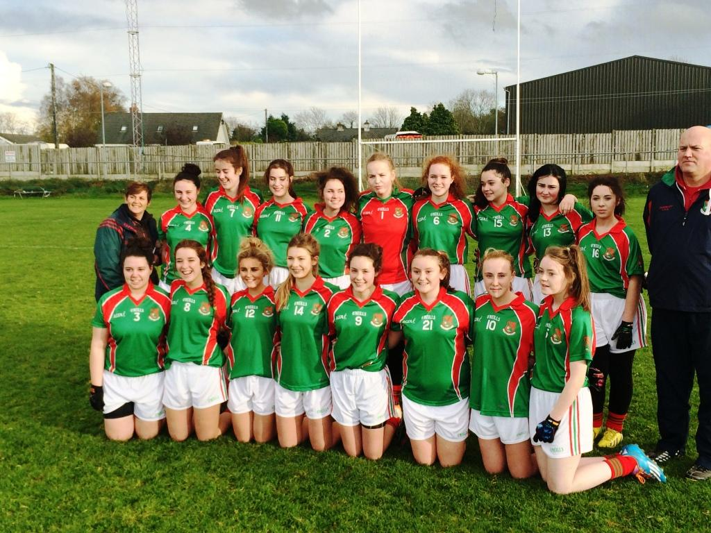 2014 Ladies Minors County Shield Winners