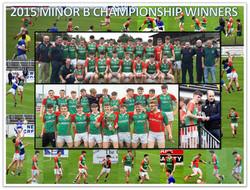 2015 Minor B Championship Winners