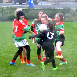 U10 Girls v Balyna In Hawkfiled 2