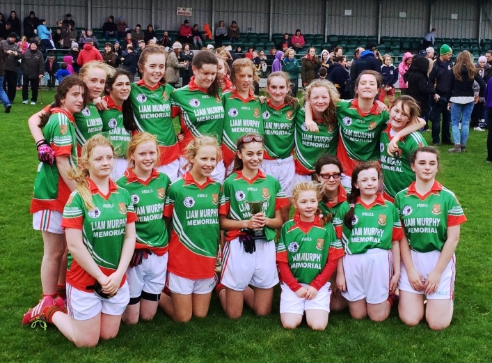 2014 Ladies U13 County Champions