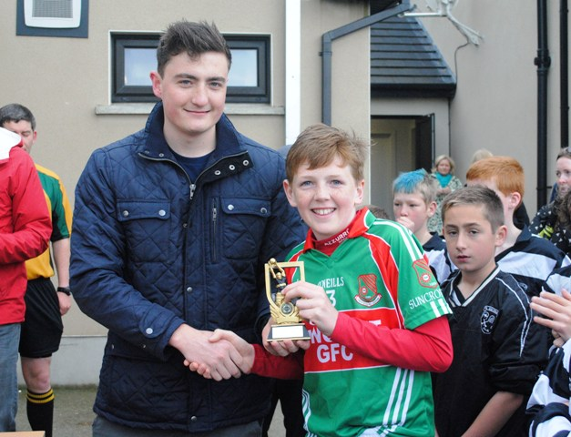 U12 Div1 Winners 2014 Man of the match
