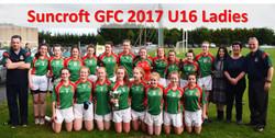 Suncroft GFC 2017 U16 Ladies