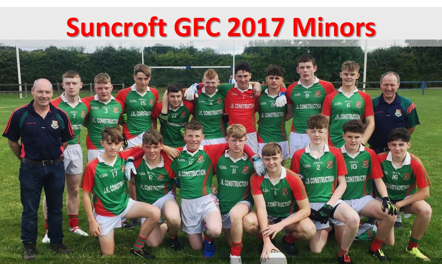 Suncroft GFC 2017 Minor Lads