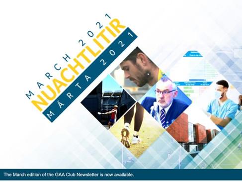 GAA March Newsletter