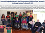 BIG THANK YOU TO SUNCROFT LODGE NURSING HOME AND ITS RESIDENTS