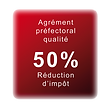 agrément qualité reduction impot